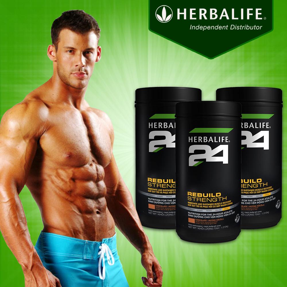 Herbalife 24 Rebuild Trength – sản phẩm sau tập luyện H027 1