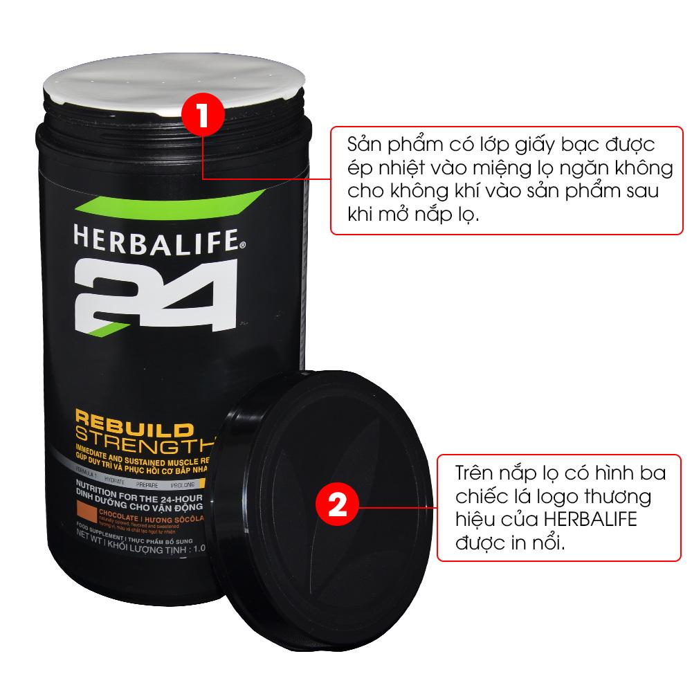 Herbalife 24 Rebuild Trength – sản phẩm sau tập luyện H027 4