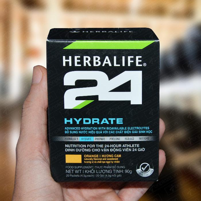 Herbalife 24 Hydrate cho vận động viên loại hương cam H026 6