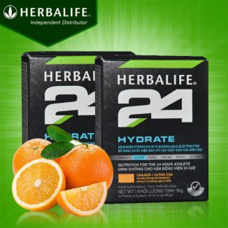 Herbalife 24 Hydrate cho vận động viên loại hương cam H026