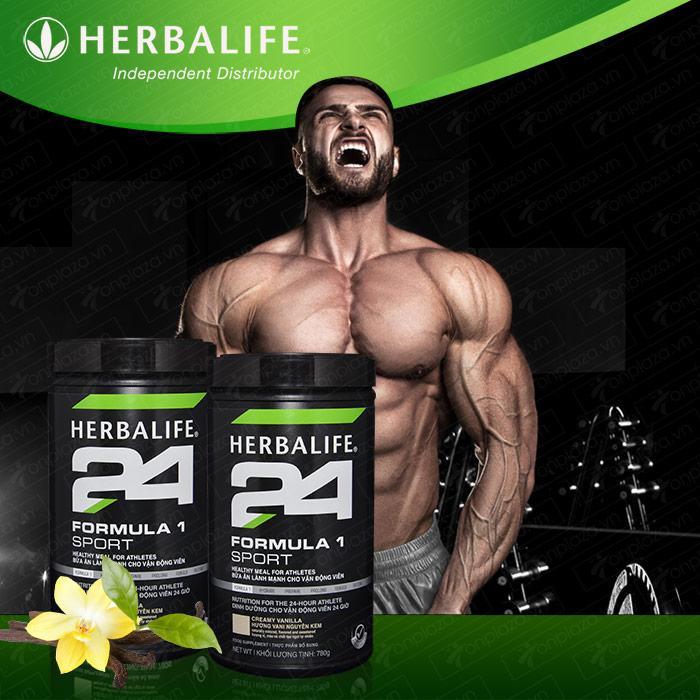 Herbalife Formula 1 sport – Hỗn hợp dinh dưỡng thể thao hương vani H025 1