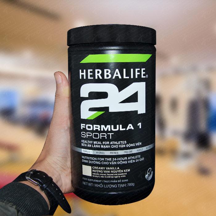 Herbalife Formula 1 sport – Hỗn hợp dinh dưỡng thể thao hương vani H025 9