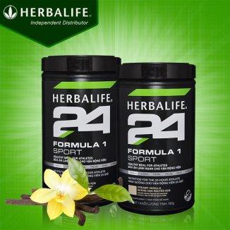 Herbalife Formula 1 sport – Hỗn hợp dinh dưỡng thể thao hương vani H025