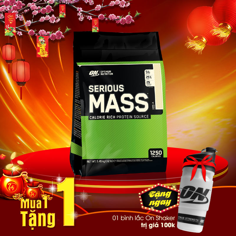 Sữa tăng cân Serious mass 12lbs TH002