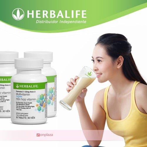 Hỗn hợp thực phẩm dinh dưỡng Vitamin Herbalife F2
