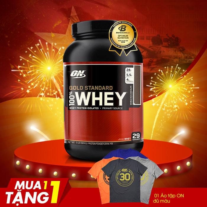 Sữa tăng cơ bắp Gold standard 100 % whey 2lbs TH013