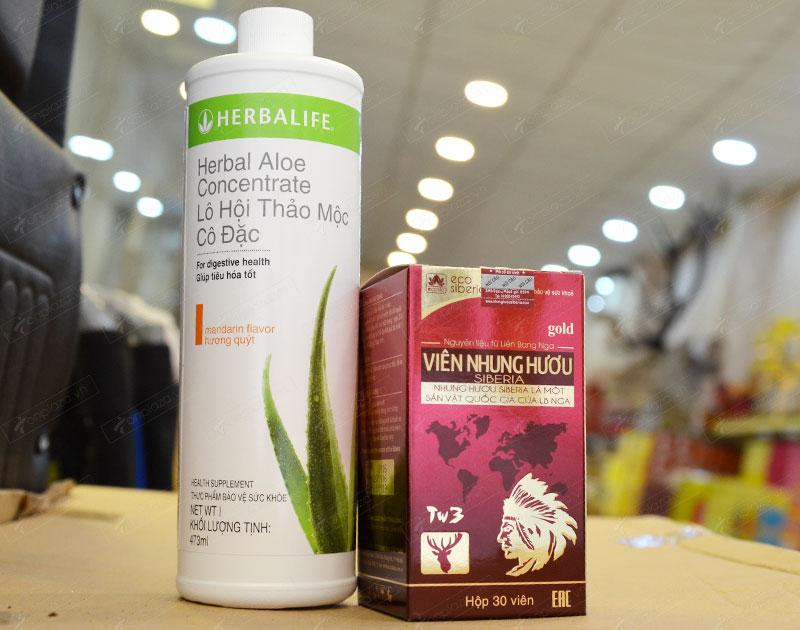 Bộ sản phẩm tăng cân Việt Pháp số 1 tốt cho tiêu hóa