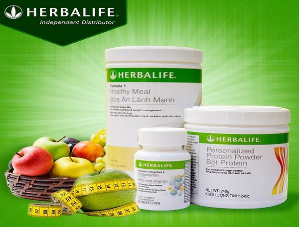 Bộ 3 sản phẩm giảm cân Herbalife cho người béo phì