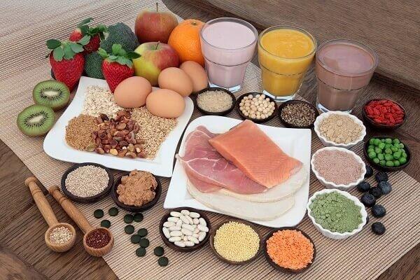 Chế độ dinh dưỡng để tăng cường cơ bắp