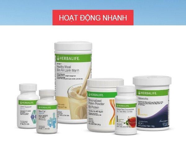 Herbalife cho chế độ tập luyện nhanh