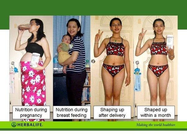 Herbalife đem lại hiệu quả giảm cân lành mạnh