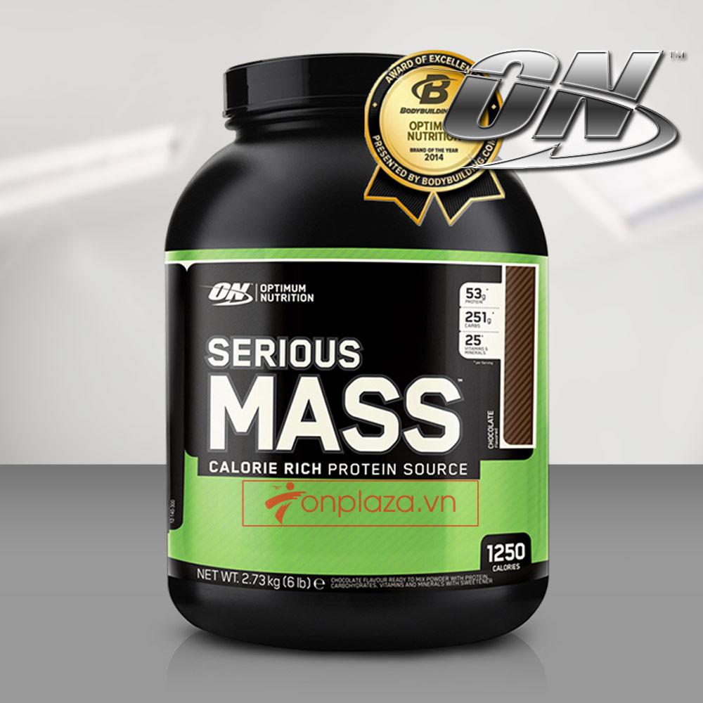 Làm thế nào để đạt hiệu quả tăng cân tối đa với serious mass 2