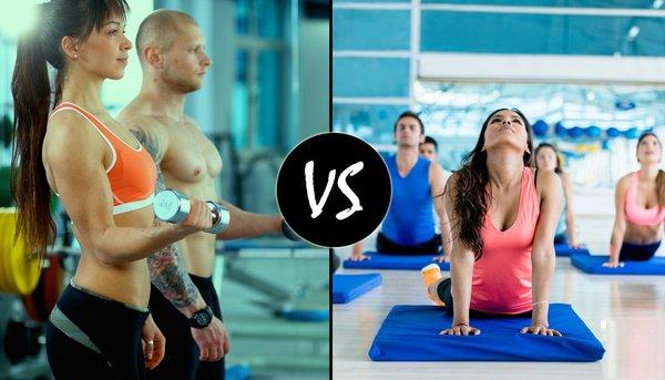 lựa chọn Gym hay Yoga để giảm cân