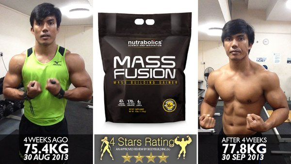 Mass fusion tăng cân an toàn