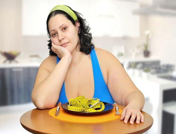 Người béo phì luôn lo lắng về cân nặng của mình