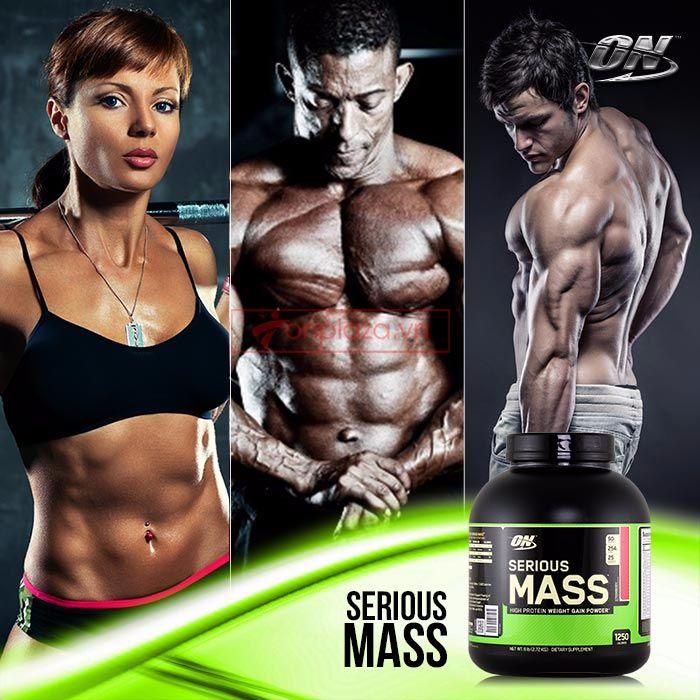 những đối tượng sử dụng serious mass 6 lbs