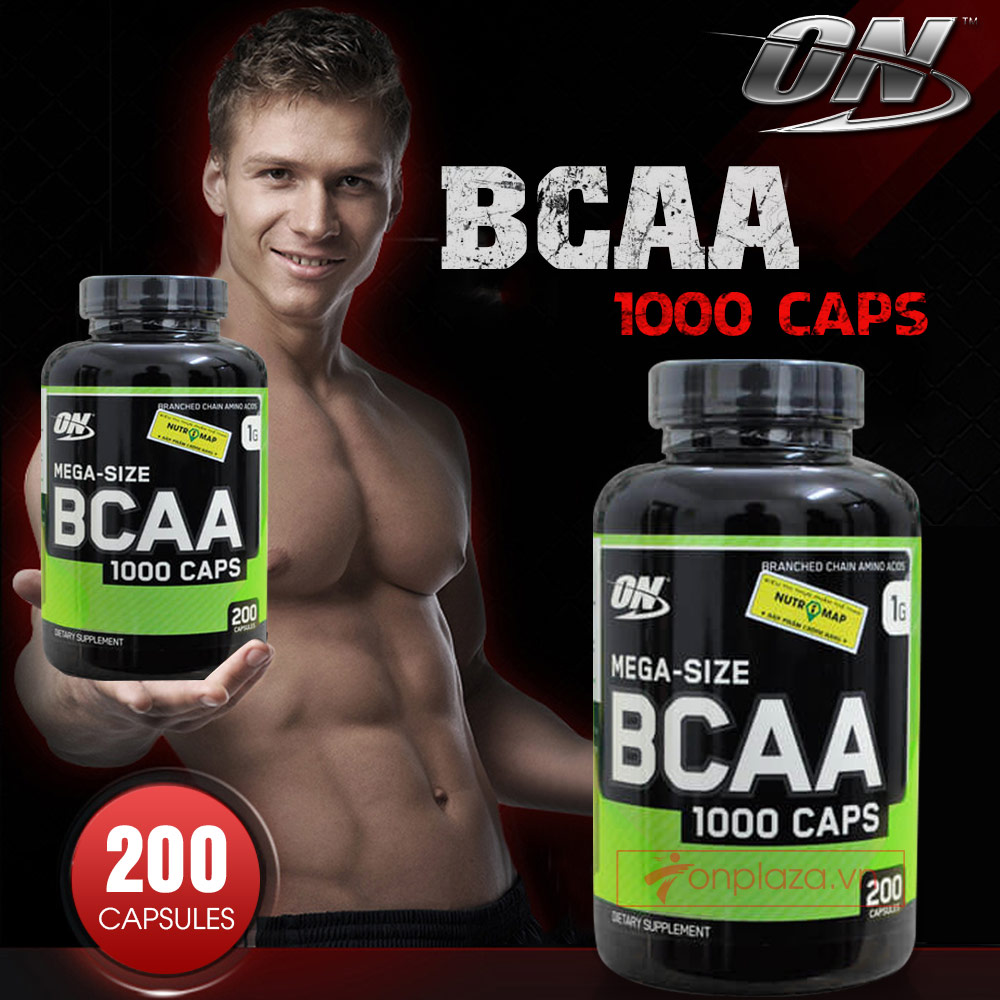 On BCAA 1000 caps 200 viên 1