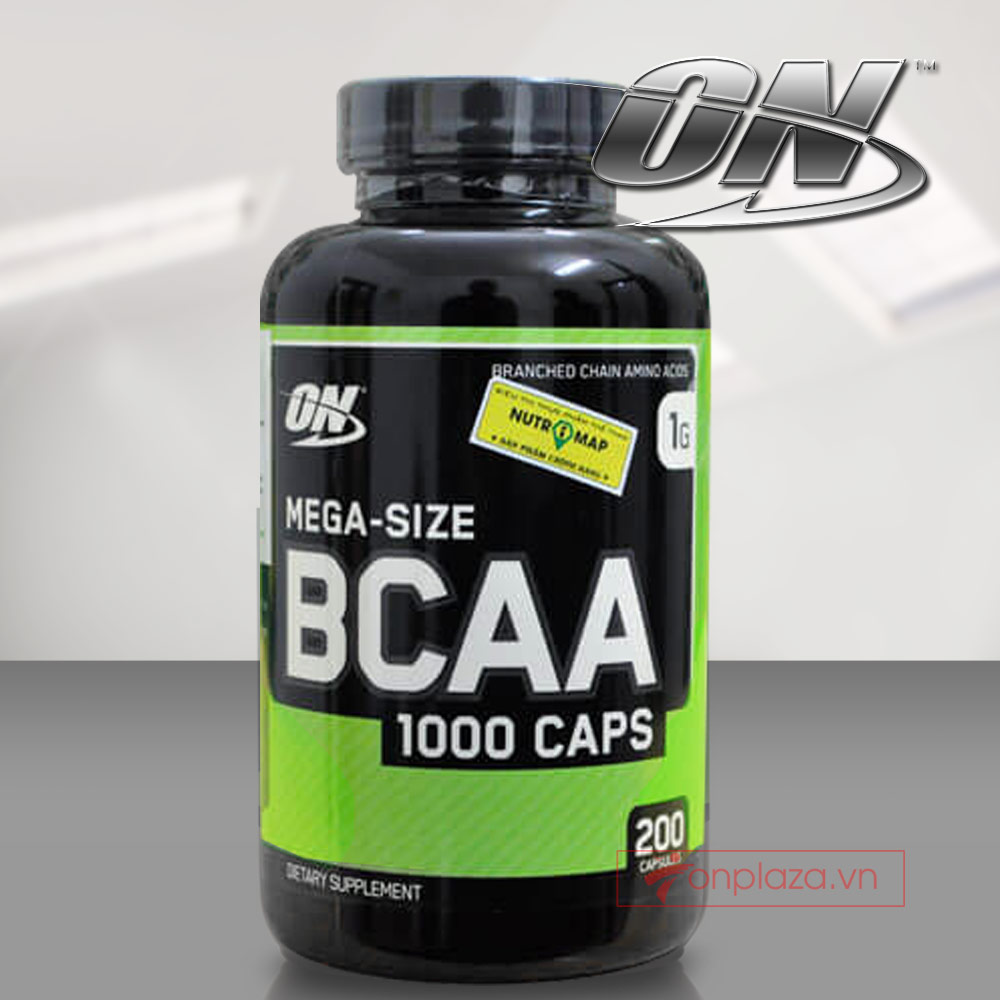 On BCAA 1000 caps 200 viên