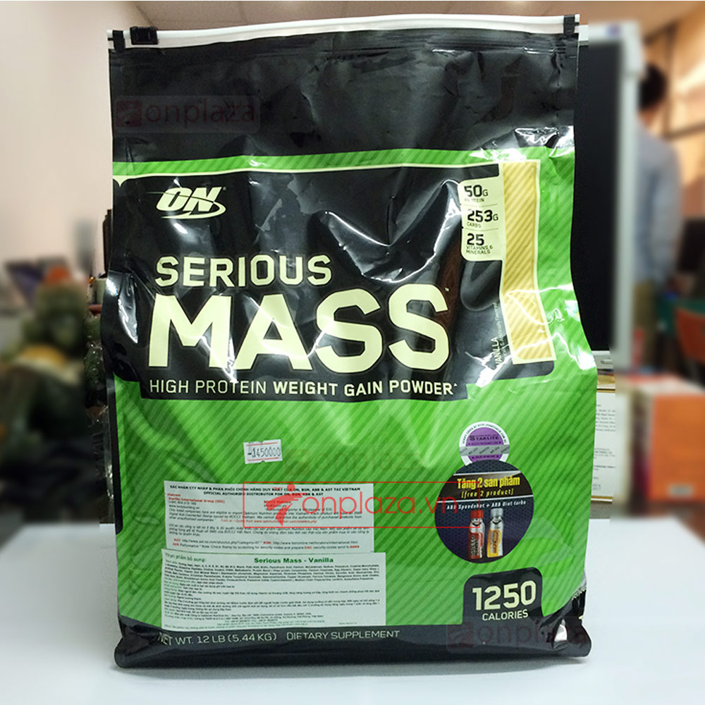 Serious mass 12lbs TH002