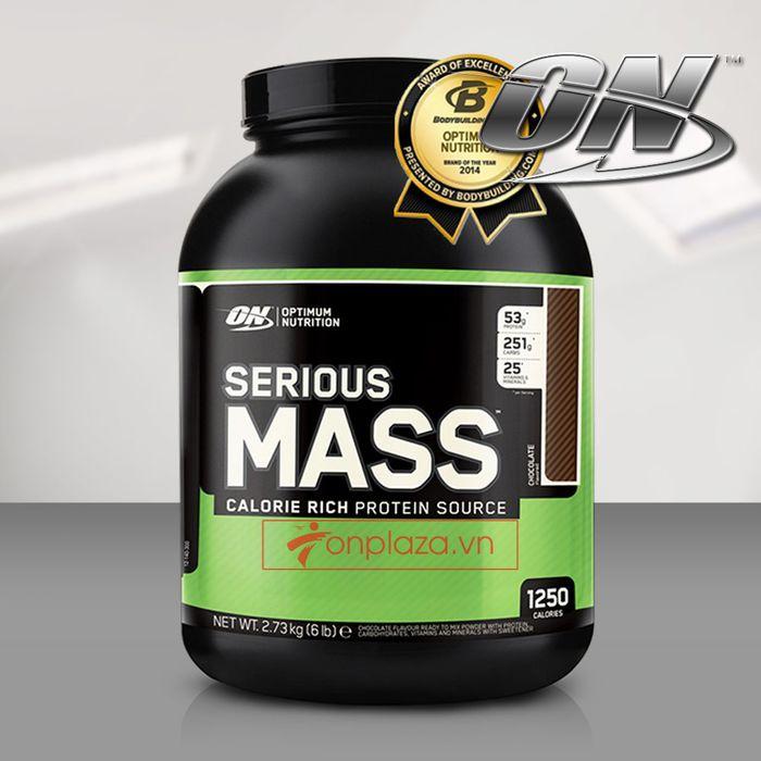 Sữa tăng cân Serious mass 6lbs4 TH001