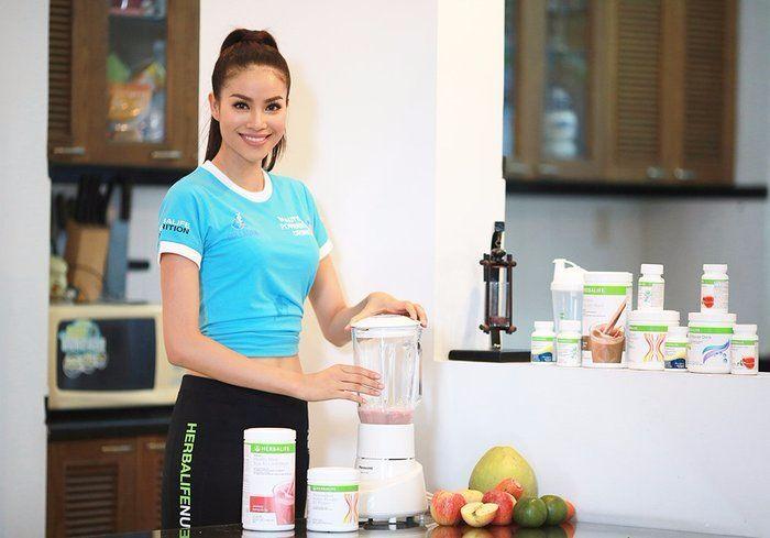 sử dụng Herbalife giảm cân an toàn hiệu quả