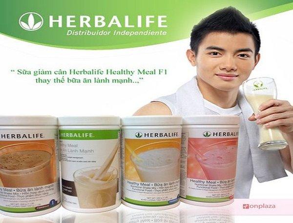 Sữa Herbalife F1 thay thế bữa ăn lành mạnh