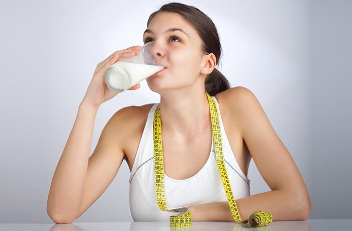 sữa tăng cân ảnh hưởng tích cực đến sự hình thành cơ bắp