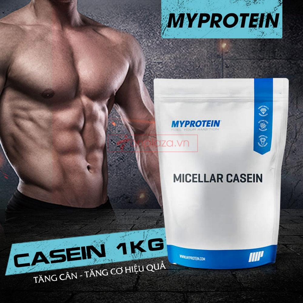 Sữa tăng cơ MyProtein - Casein bịch 1kg 1