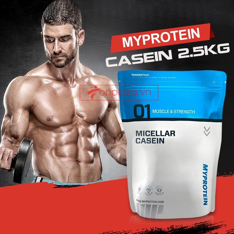 Sữa tăng cơ MyProtein - Casein bịch 2.5kg 1