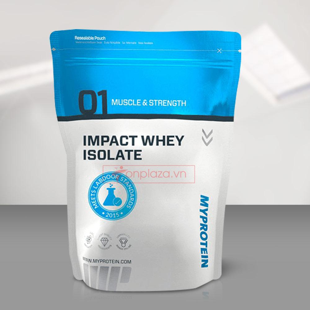 Sữa tăng cơ MyProtein - Impact whey isolate bịch 1kg