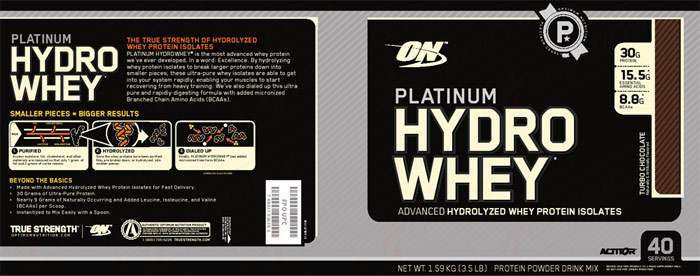 Sữa tăng cơ Platinum HydroBuilder 4.4lbs TH024 2