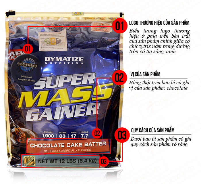 Super Mass gainer 5.5kg TH031 4