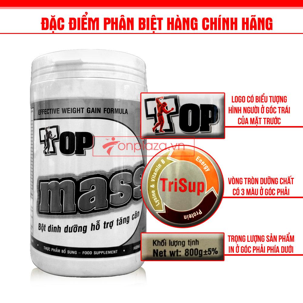 Tác dụng của Top mass đối với những người muốn tăng cường cơ bắp 4