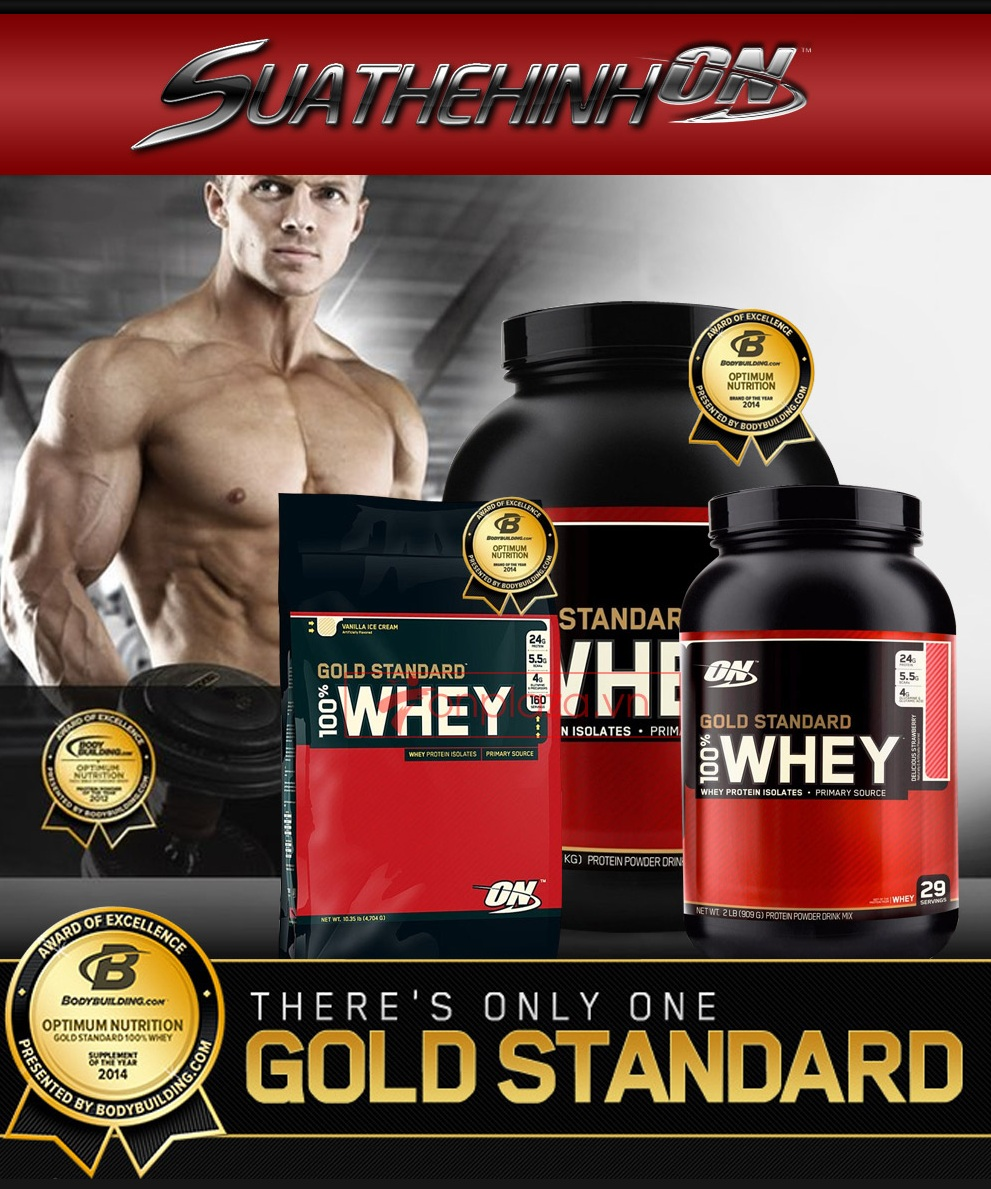 Tác dụng của whey protein với người đang tập thể hình, muốn tăng cơ bắp là gì