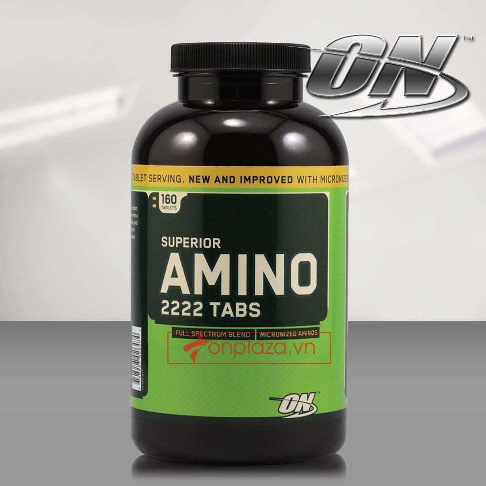 Viên uống tăng cơ amino 2222 tabs 160 TH028