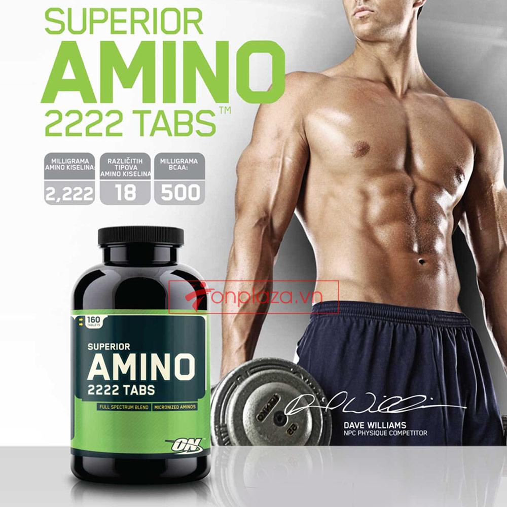 Nguyên nhân làm nên cơn sốt thuốc amino 2222 tăng cơ?