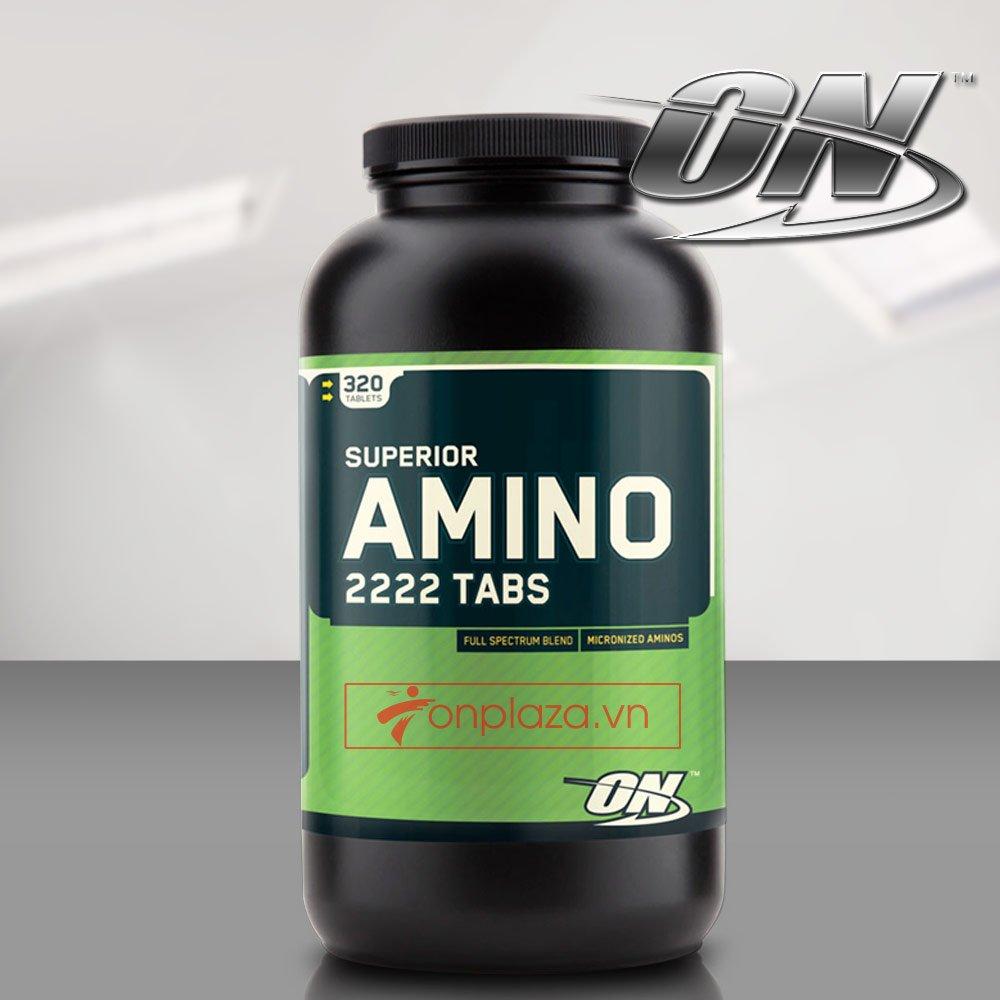 Viên uống tăng cơ amino 2222 tabs 320 TH004