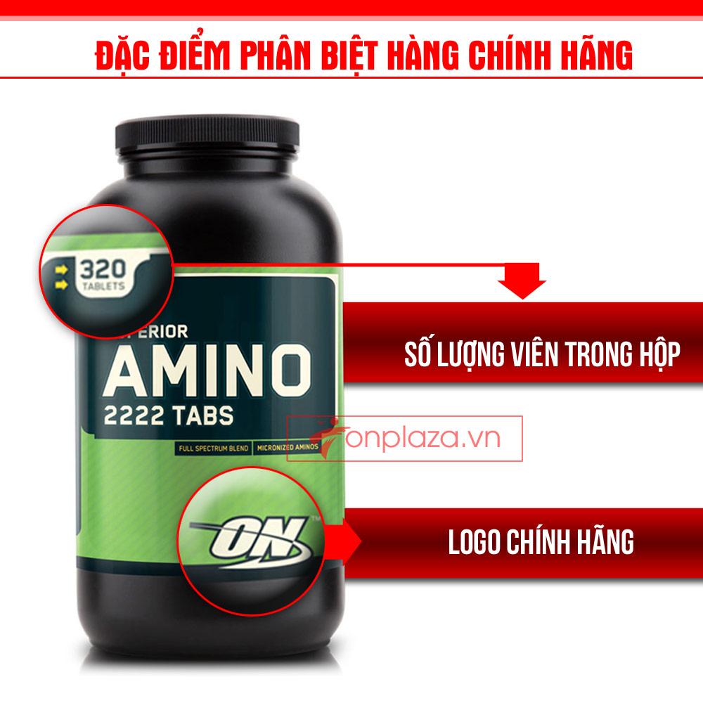 Tăng cơ amino 2222 tabs 320 TH004