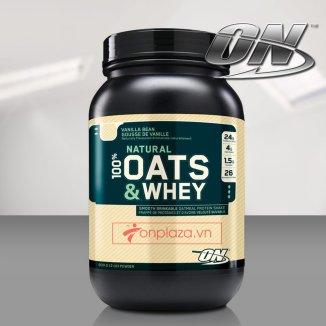 Sữa tăng cơ Oats & Whey 100% 3lbs TH026