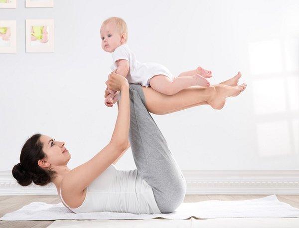 Tăng cường vận động để lấy lại vóc dáng sau sinh