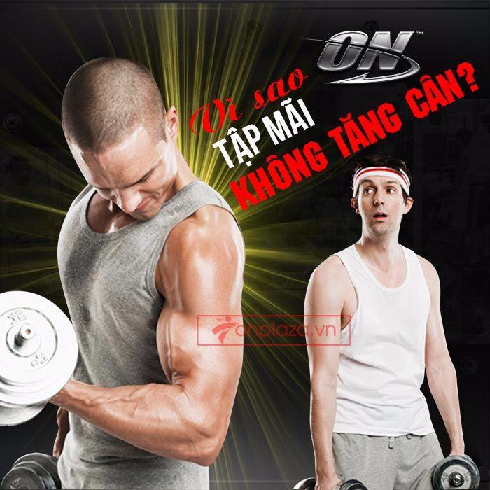 vì sao tập mãi ko tăng cân