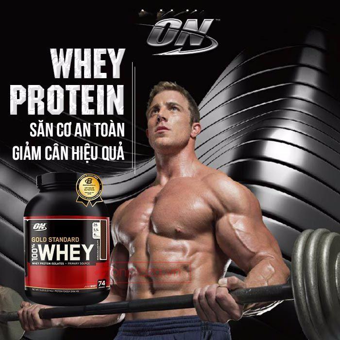 Whey Protein – Săn cơ an toàn – Giảm cân hiệu quả