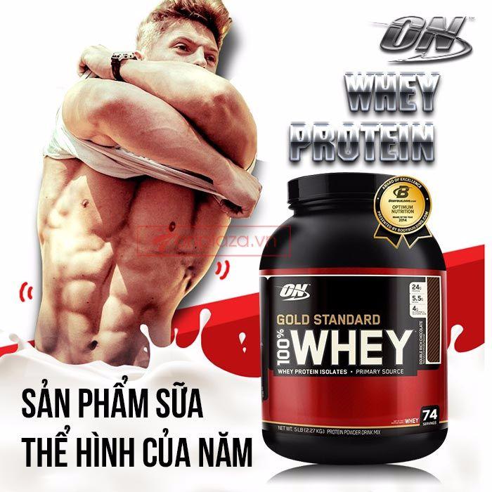 whey protein sản pham sua the hinh cua năm